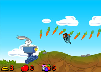 Play Bugs Bunny Rider online - Screenshot 1