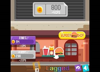 Play Burger Clicker online - Screenshot 1