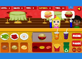 Play Burger Now online - Screenshot 1