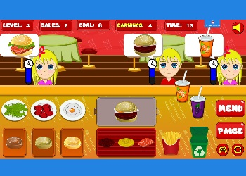 Play Burger Now online - Screenshot 2