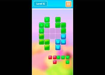 Play Candy Blocks online - Screenshot 2