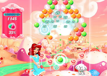 Play Candy Bubble online - Screenshot 1