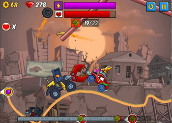 Play Car Eats Car 2: Deluxe online - Screenshot 1