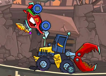 Play Car Eats Car 2: Deluxe online - Screenshot 2