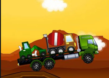 Play Car Transporter 2 online - Screenshot 2
