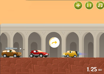 Play Car Yard Derby online - Screenshot 1