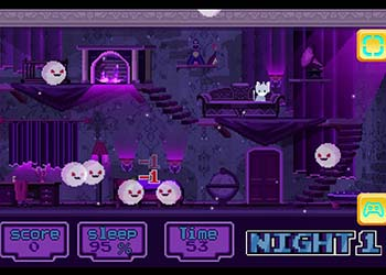 Play Cat And Ghosts online - Screenshot 1