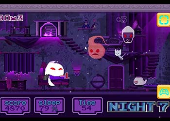 Play Cat And Ghosts online - Screenshot 2