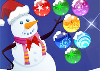 Play Christmas Bubbles online - Screenshot 1