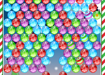 Play Christmas Bubbles online - Screenshot 2