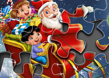 Play Christmas Puzzle online - Screenshot 1