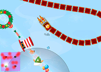 Play Christmas Trains online - Screenshot 2