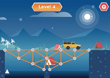 Play Construct A Bridge online - Screenshot 2