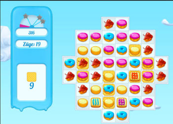 Play Cookie Crush 2 online - Screenshot 1