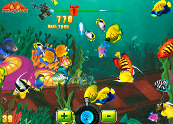 Play Crazy Fishing online - Screenshot 1