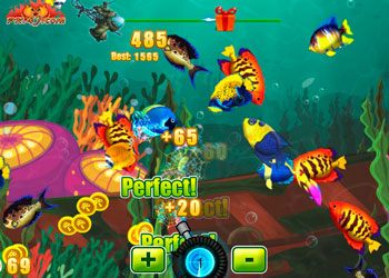 Play Crazy Fishing online - Screenshot 2