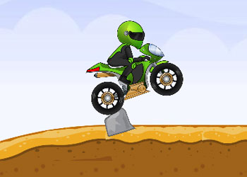 Play Crazy Motorbike online - Screenshot 2