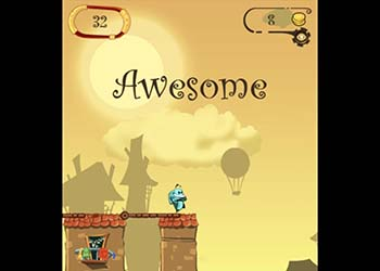 Play Cross The Bridge online - Screenshot 2