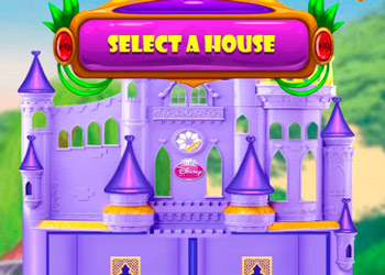 Play Baby Elsa Dollhouse Designer online - Screenshot 1