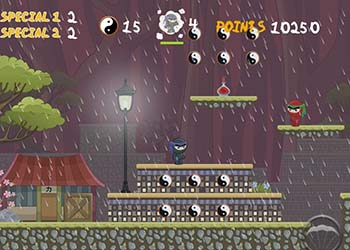 Play Dark Ninja online - Screenshot 1