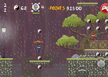 Play Dark Ninja online - Screenshot 2