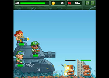 Play Defend The Tank online - Screenshot 1