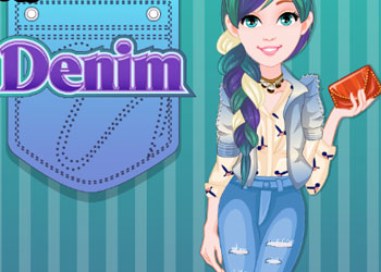 Play Denim Hairstyles online - Screenshot 1