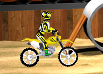 Play Dirt Bike online - Screenshot 1