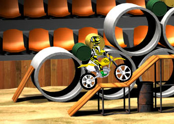 Play Dirt Bike online - Screenshot 2