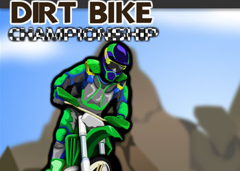 Play Dirt Bike Championship online - Screenshot 1