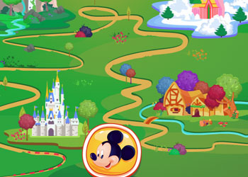Play Disney Walking Tour online - Screenshot 2