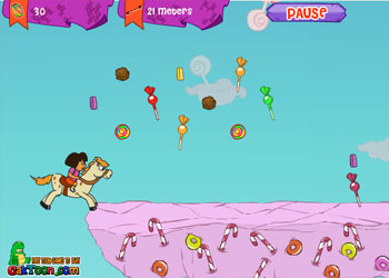 Play Dora And Unicorn online - Screenshot 1