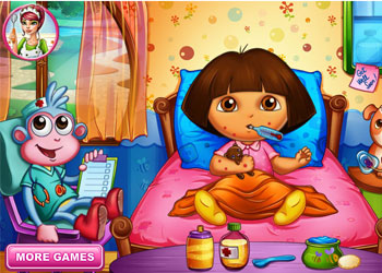 Play Dora Bee Sting Doctor online - Screenshot 1