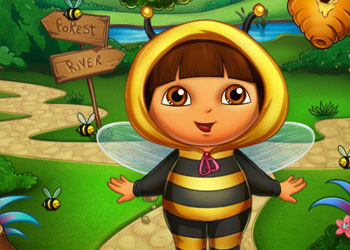 Play Dora Bee Sting Doctor online - Screenshot 2