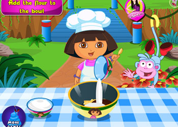 Play Dora Cake online - Screenshot 1