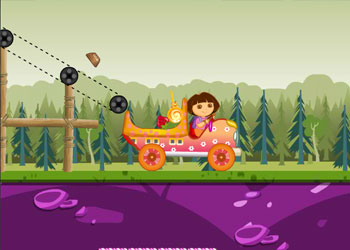 Play Dora Candy Transport online - Screenshot 1