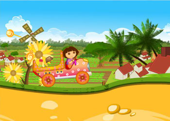 Play Dora Candy Transport online - Screenshot 2