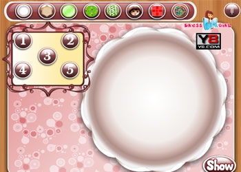 Play Dora Cookies Decoration online - Screenshot 1