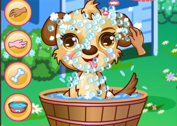Play Dora Cute Puppy Caring online - Screenshot 1