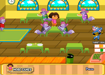 Play Dora Diner online - Screenshot 1