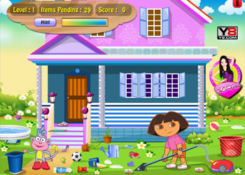 Play Dora Groom The Room online - Screenshot 1