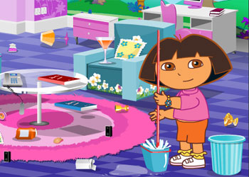 Play Dora Groom The Room online - Screenshot 2