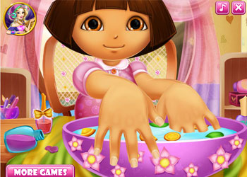Play Dora Nails Spa online - Screenshot 1