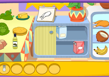 Play Doras Cooking in La Cucina online - Screenshot 1
