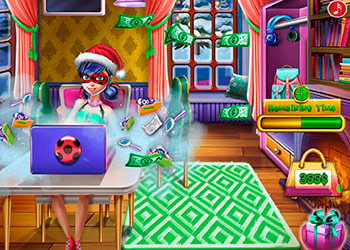 Play Dotted Girl Christmas Shopping online - Screenshot 1