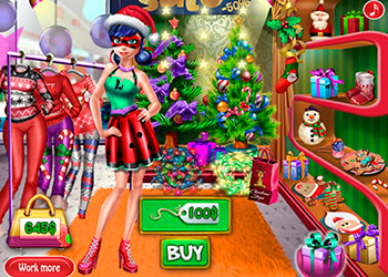 Play Dotted Girl Christmas Shopping online - Screenshot 2