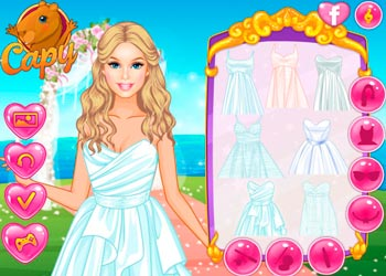 Play Dress your Barbie for a Wedding online - Screenshot 1