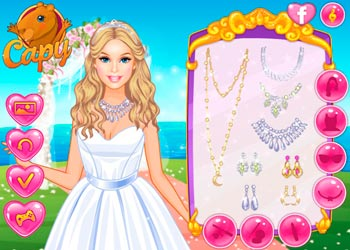 Play Dress your Barbie for a Wedding online - Screenshot 2