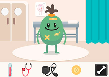 Play Dumb Ways JR Zanys Hospital online - Screenshot 2