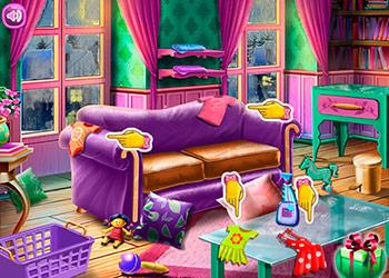 Play Ellie Family Christmas online - Screenshot 1